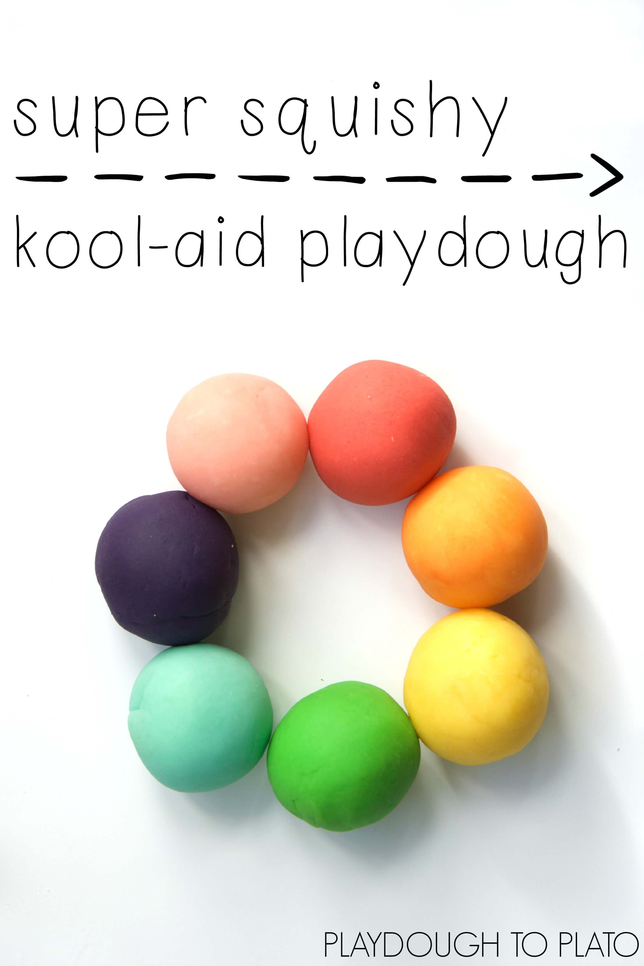 Kool-Aid Playdough - Playdough To Plato