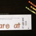 Kids rainbow write the sight words...
