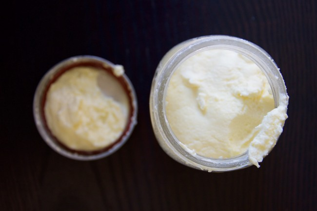 how to make butter in a jar with buttermilk