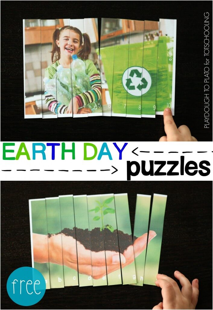 Free Earth Day Puzzles