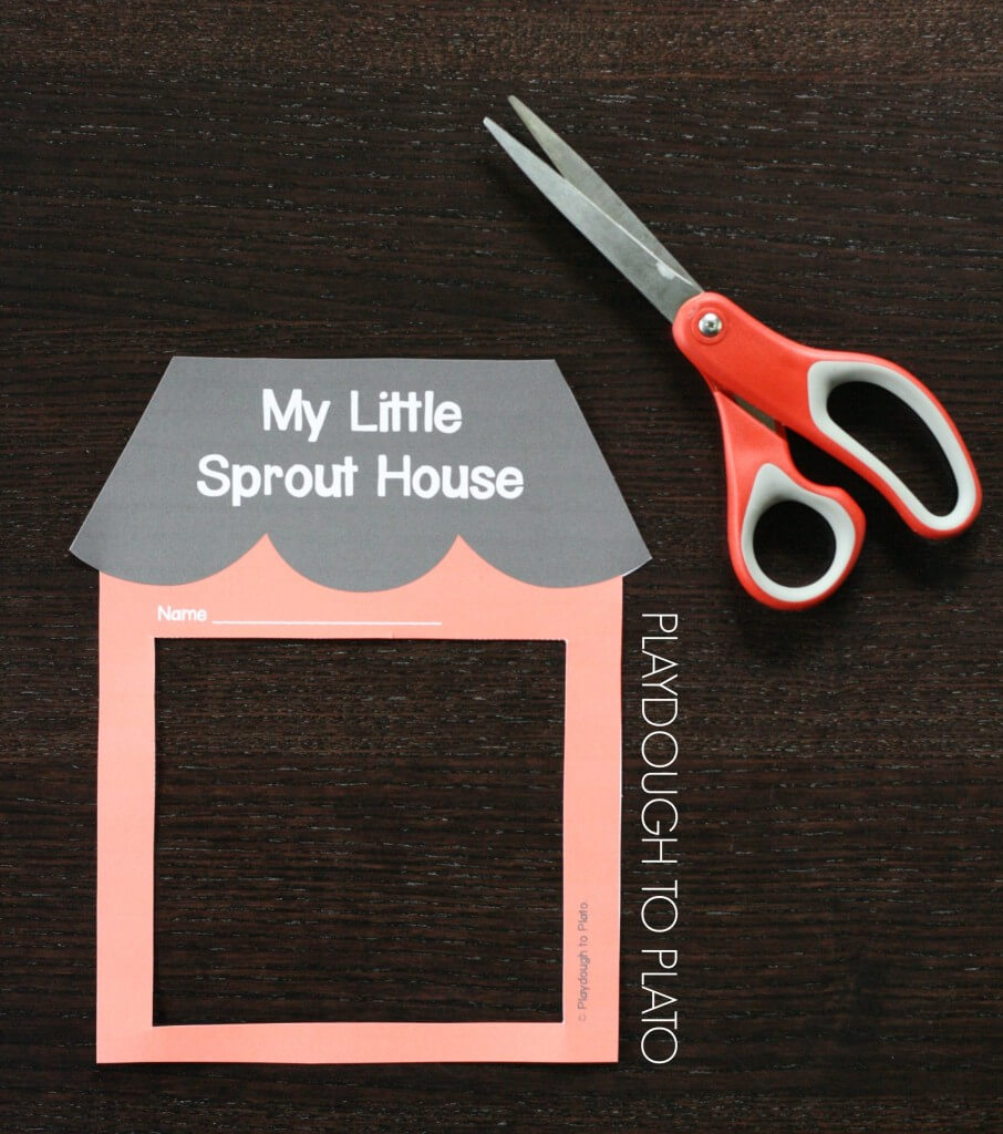 My Little Sprout House Printable Templates