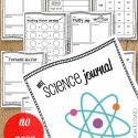 NO PREP science journal plus 30 awesome science experiments!
