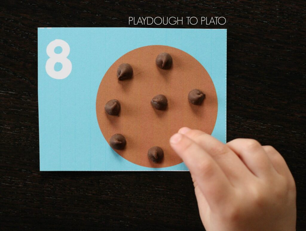 Super cute If You Give a Mouse a Cookie Counting Cards