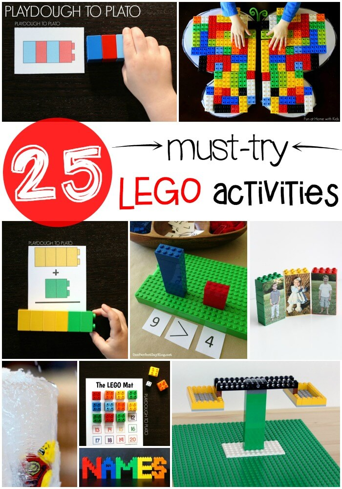 25 Must Try LEGO Activities