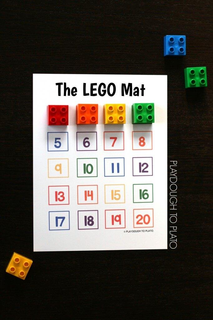 Aweseome LEGO Mat