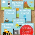 Boys will love the bright and colorful journal covers!
