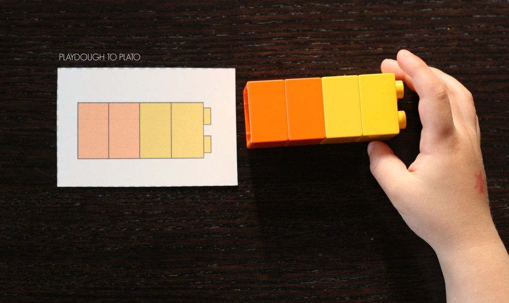 Free LEGO pattern cards