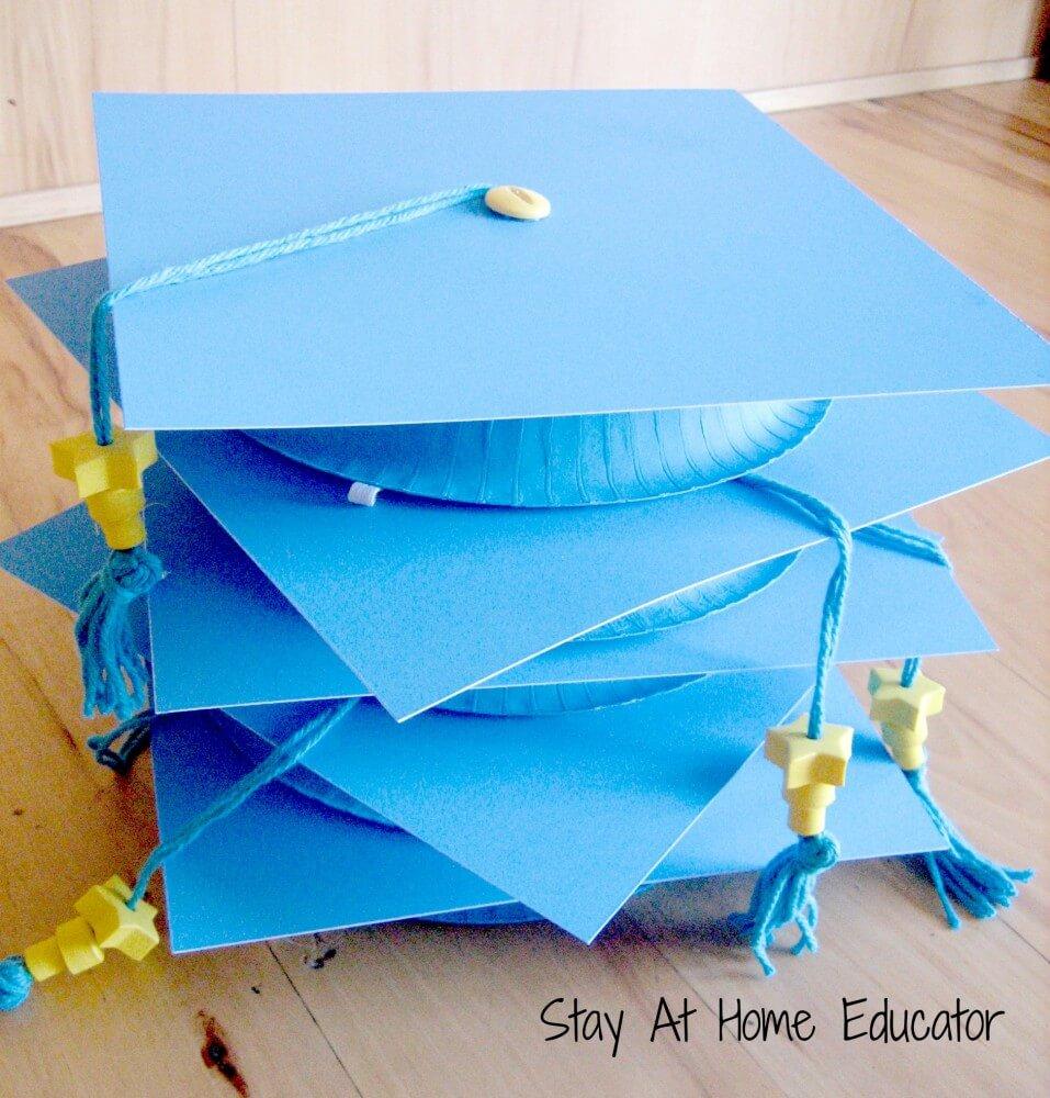 Kindergarten Graduation Caps Craft