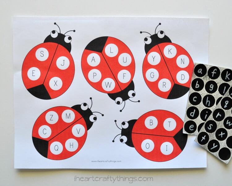 Ladybug-ABC-Match-1