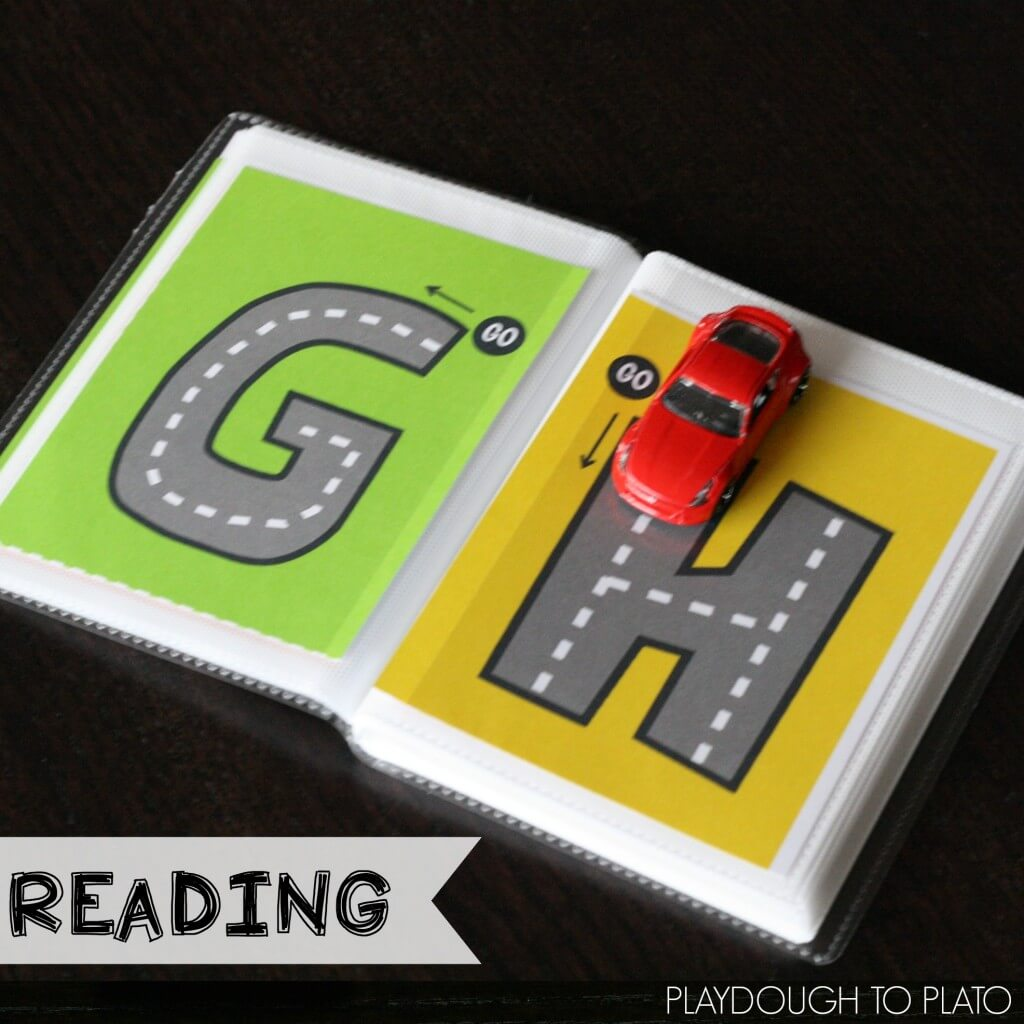 Preschool Reading Activities