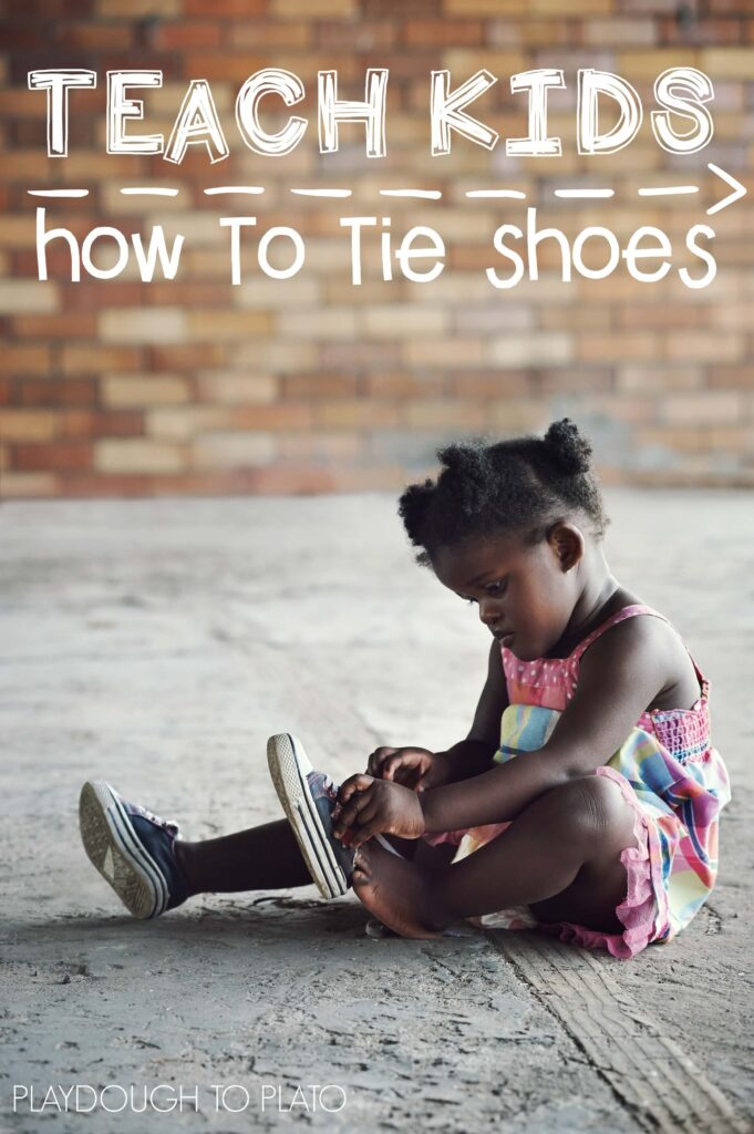 Teach Kids How to Tie Shoes