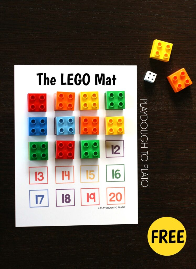 The LEGO Mat plus fun ways to use it