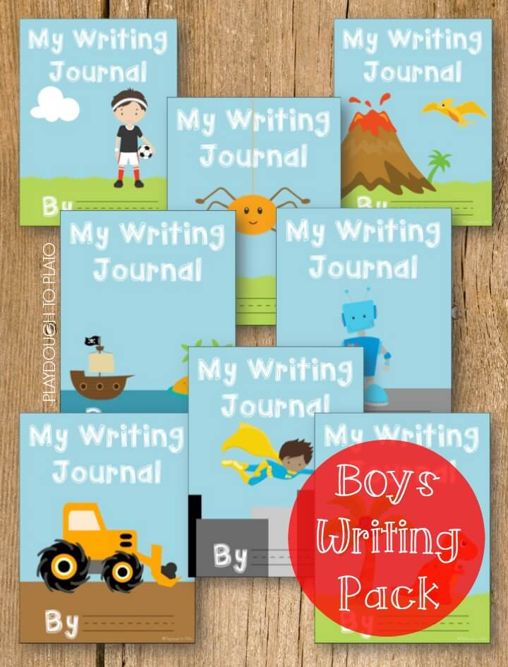 Uber Awesome Boys Writing Pack