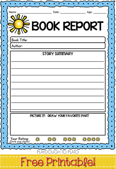 book report worksheets for 1st grade Super summary lessons & printables i read aloud a book and modeled filling out a portion of the pre-writing page math activities and games for 1st grade.