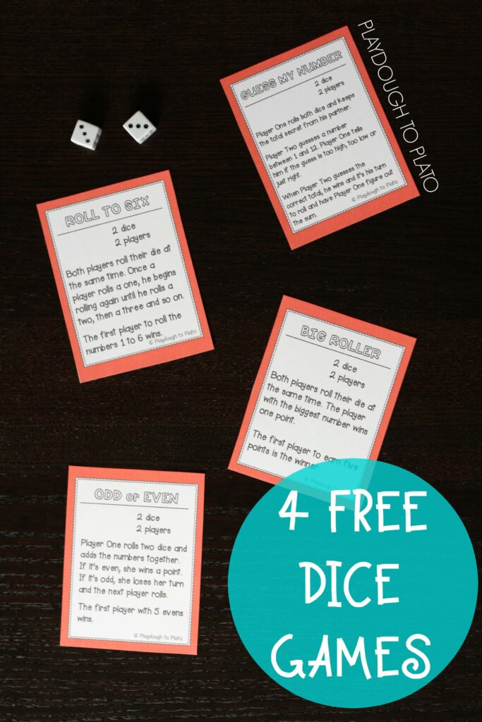 4 Free Dice Games