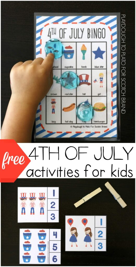 4th of july games for kids for free