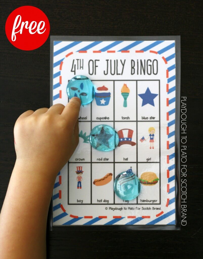 Free 4th of July Bingo