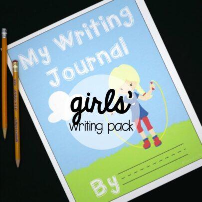 Girls' Writing Pack