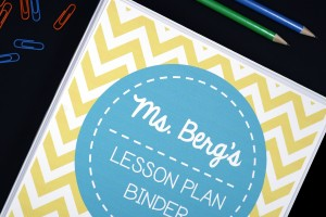 Free Lesson Plan Book