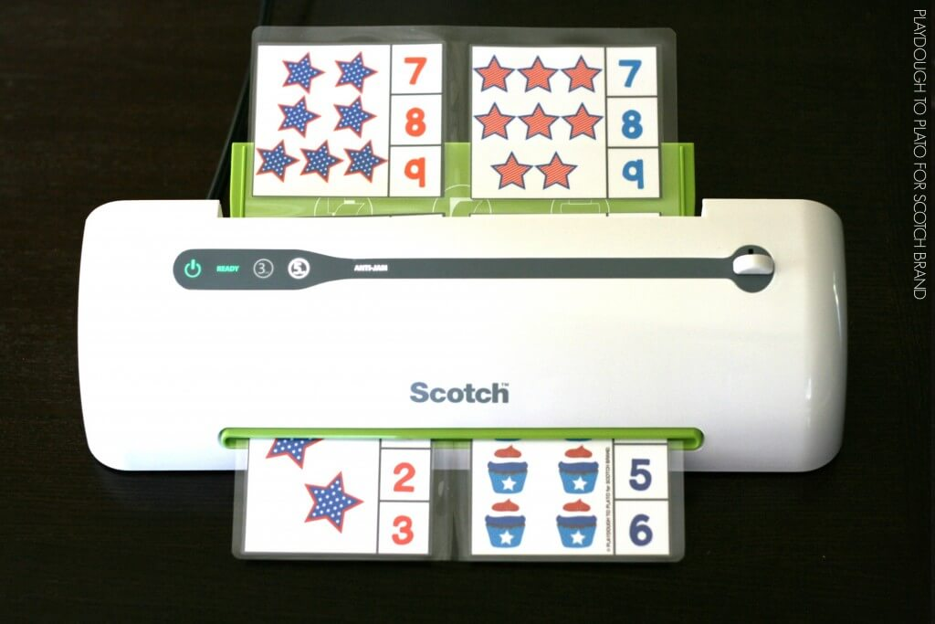 Laminate the 4th of July Freebies