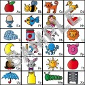 Slide a copy of the alphabet chart in kids' writing folders to help them easily identify letter sounds.