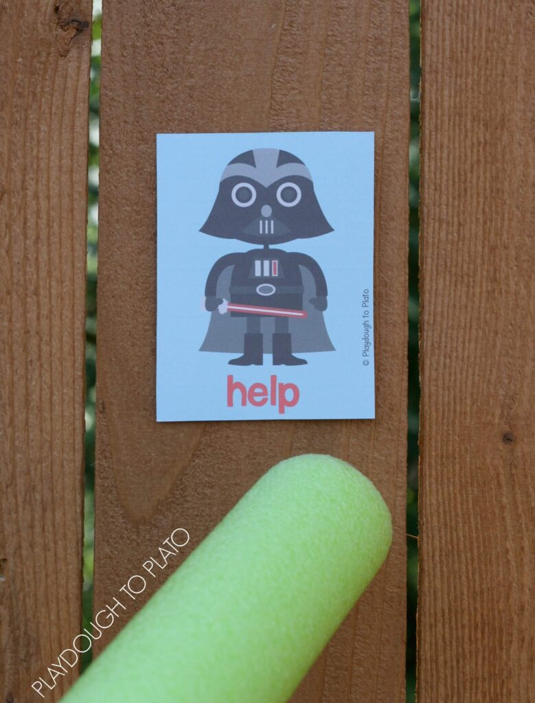 Star Wars Themed Sight Word Game!