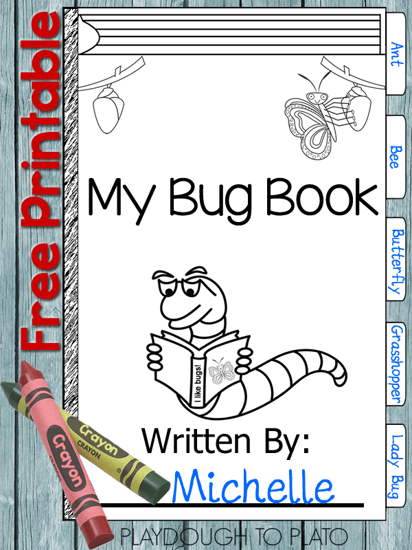 My Bug Book Printable