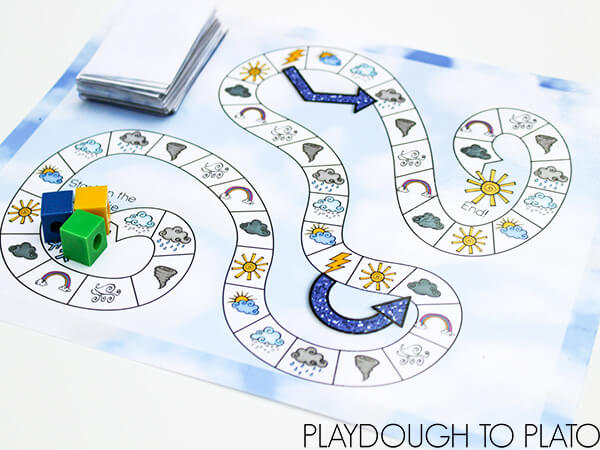 Free printable from Playdough to Plato!