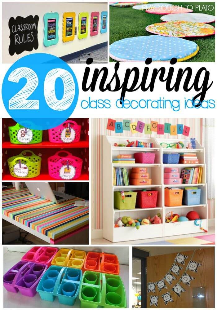 Classroom Decorating Ideas ~ Inspiring classroom decoration ideas playdough to plato