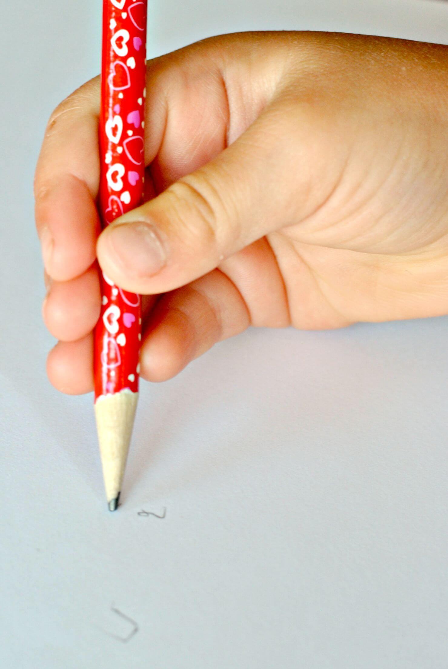Pencil Grasp Development in Kindergartners