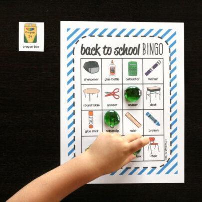 Back to School Bingo - 500