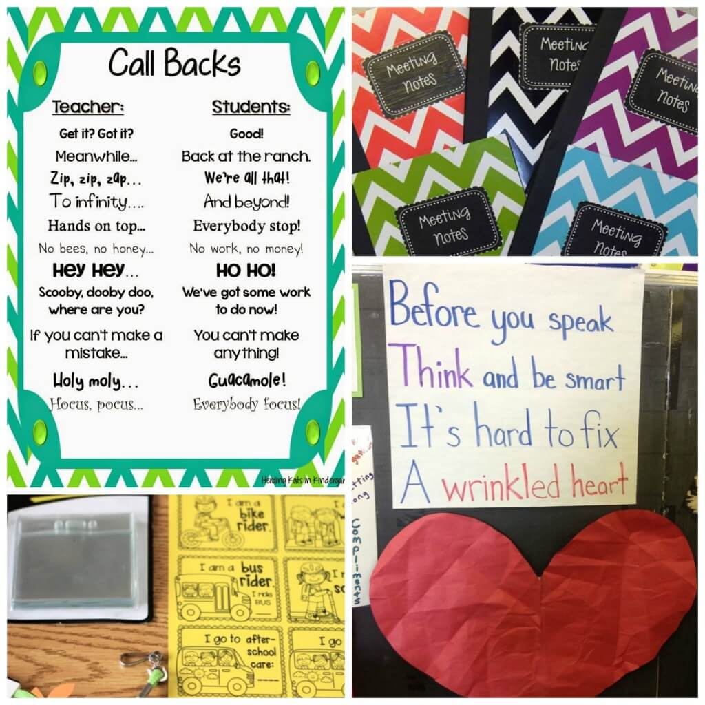 Back to School Ideas for Teachers. Love these!