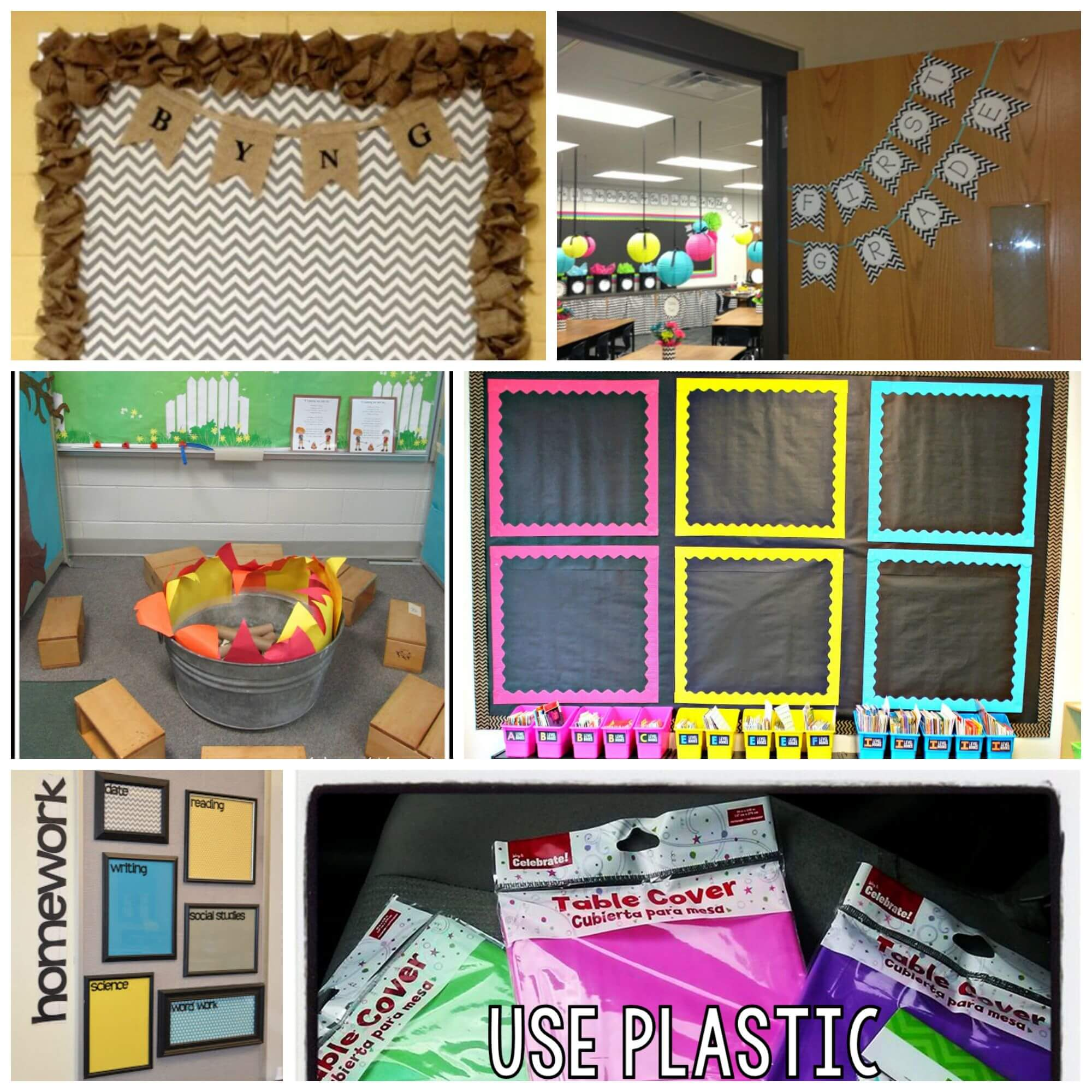 Beautiful Classroom Decoration Ideas ~ Inspiring classroom decoration ideas playdough to plato