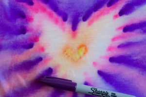 Sharpie Tie-Dye Science