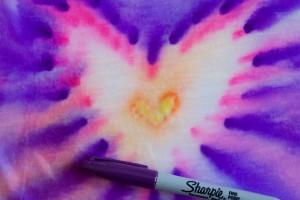 Sharpie Tie-Dye Science
