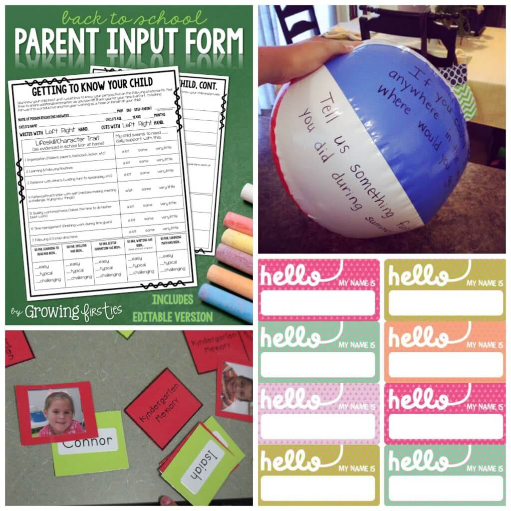 Fun Back to School Ideas for Teachers