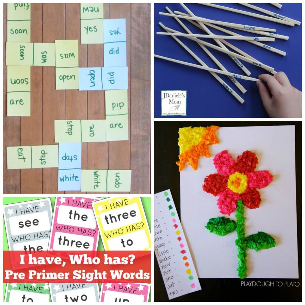 Loads of fun sight word games for kids