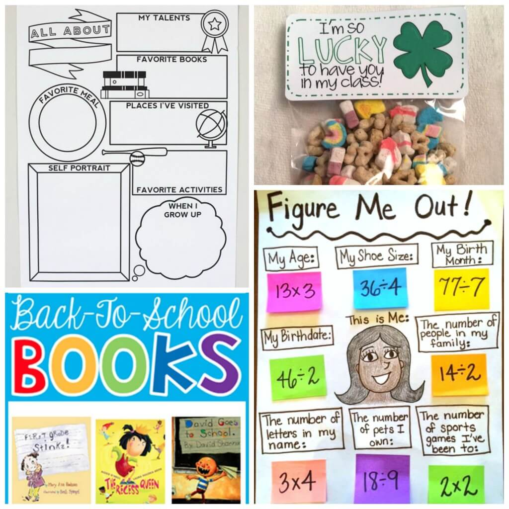Lots of back to school ideas for teachers