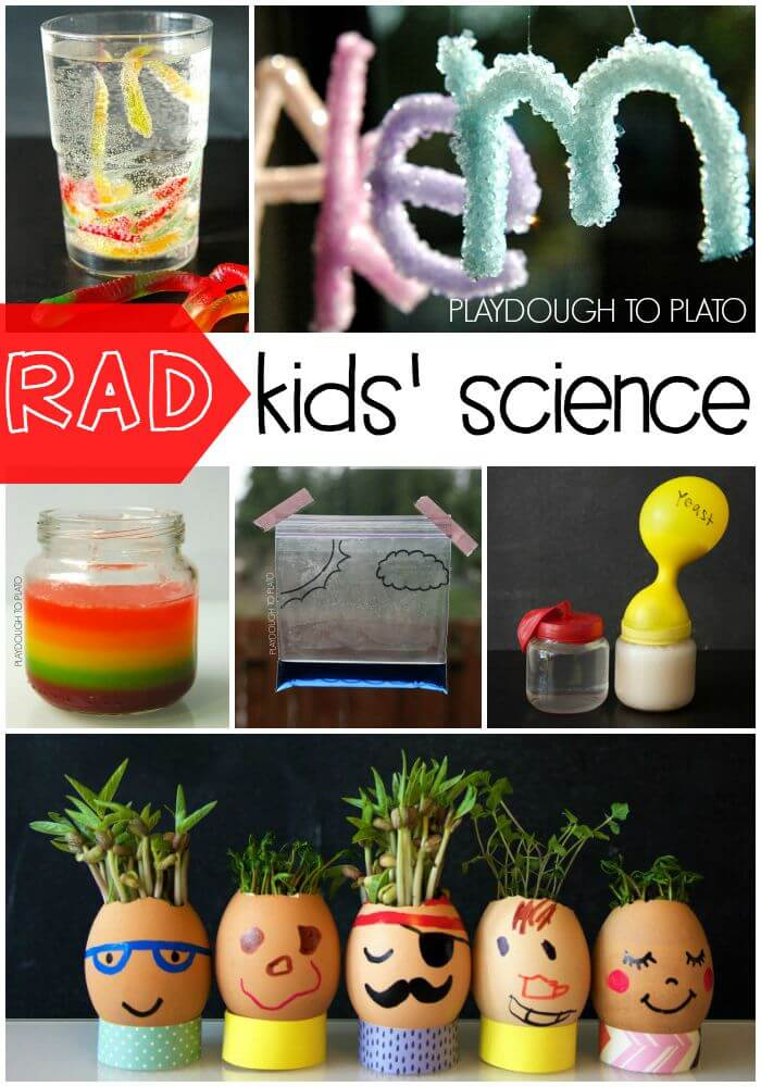 Rad Kids Science Projects. Make dancing frankenworms and more.