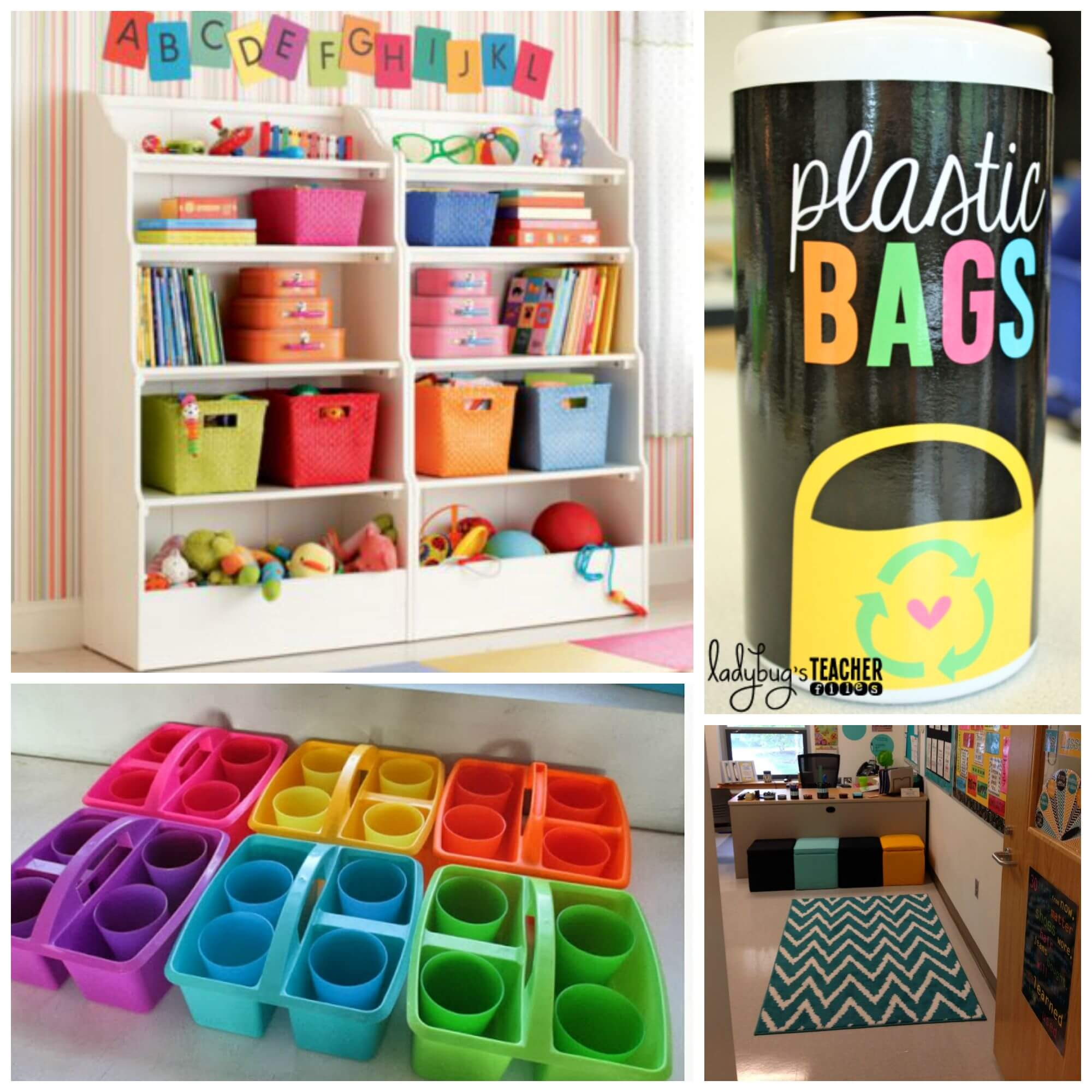 Creative Classroom Idea ~ Inspiring classroom decoration ideas playdough to plato