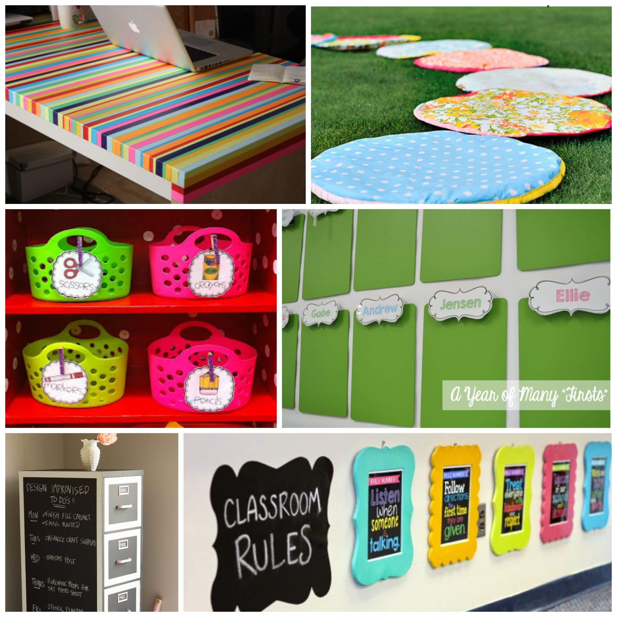 Classroom Decoration Colors ~ Inspiring classroom decoration ideas playdough to plato