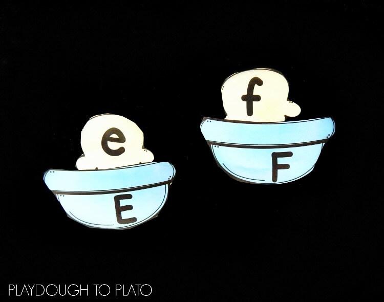 ice cream alphabet match 2