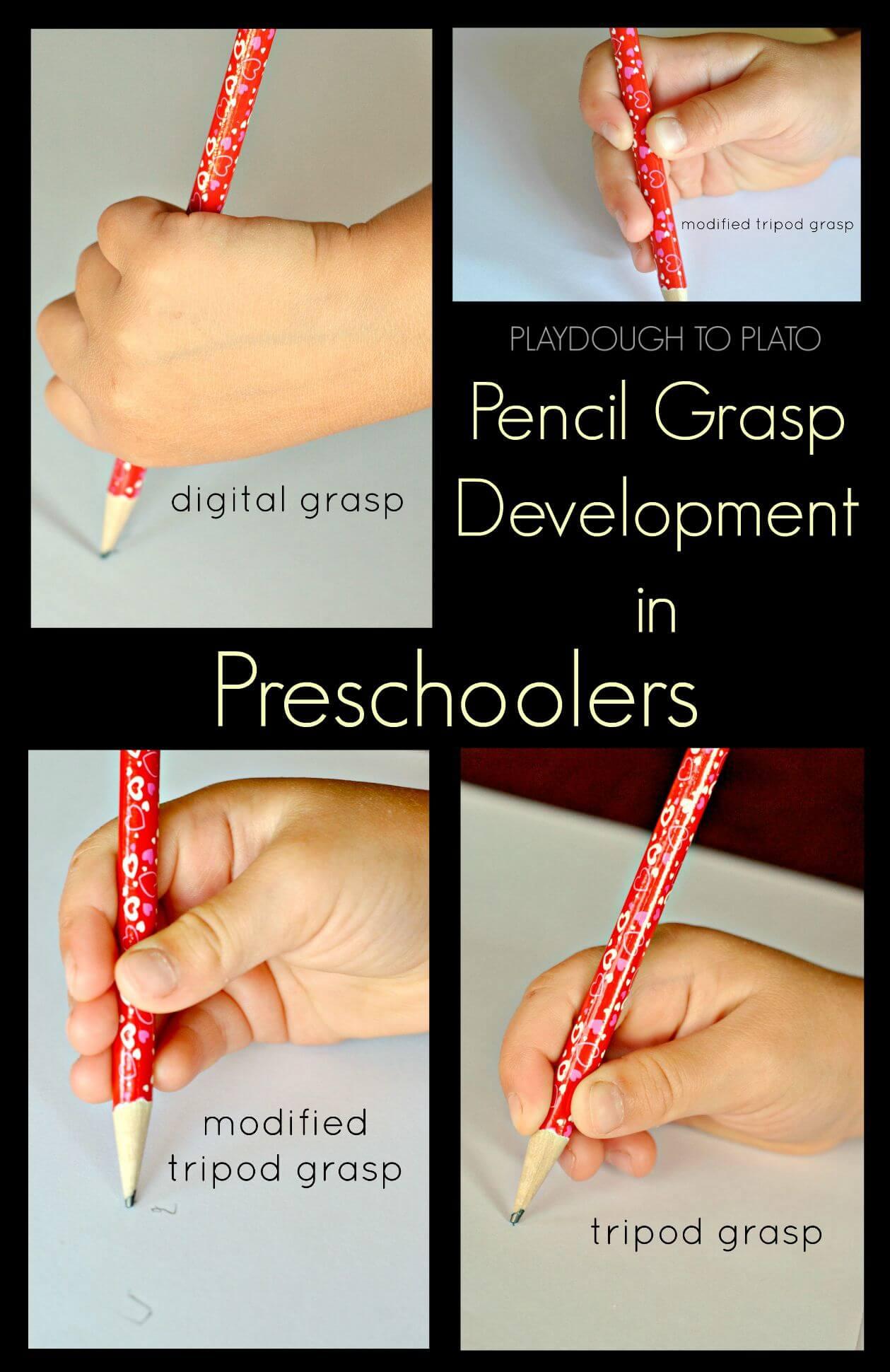 Pencil Grasp Development in Preschoolers