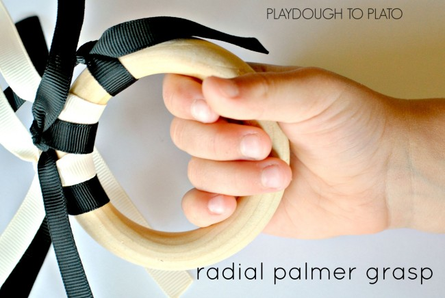 radial palmer grasp - Playdough to Plato
