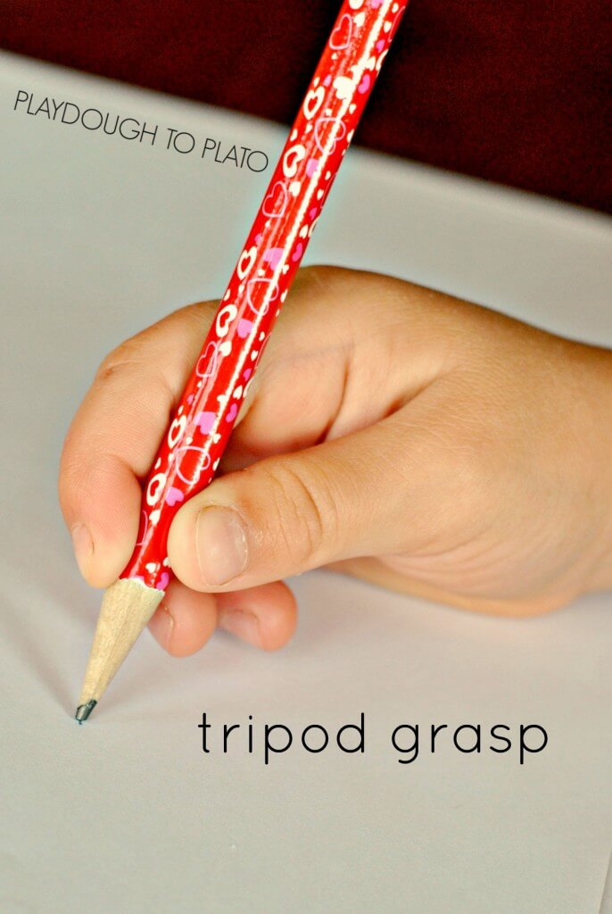 tripod grasp - Playdough to Plato