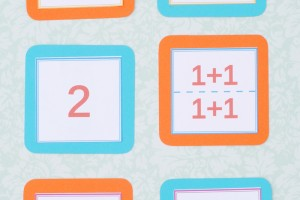 Math Fact Memory Game