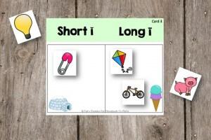 Free Short Vowel and Long Vowel Sort