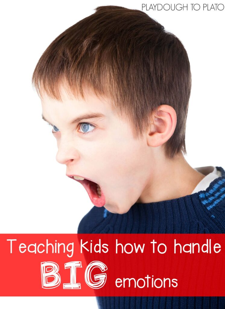 Teaching kids how to handle BIG emotions. 7 helpful tips for parents and teachers.