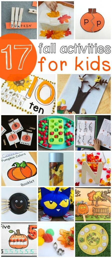 17 Fall Activities for Kids. So many fun ideas in this roundup!