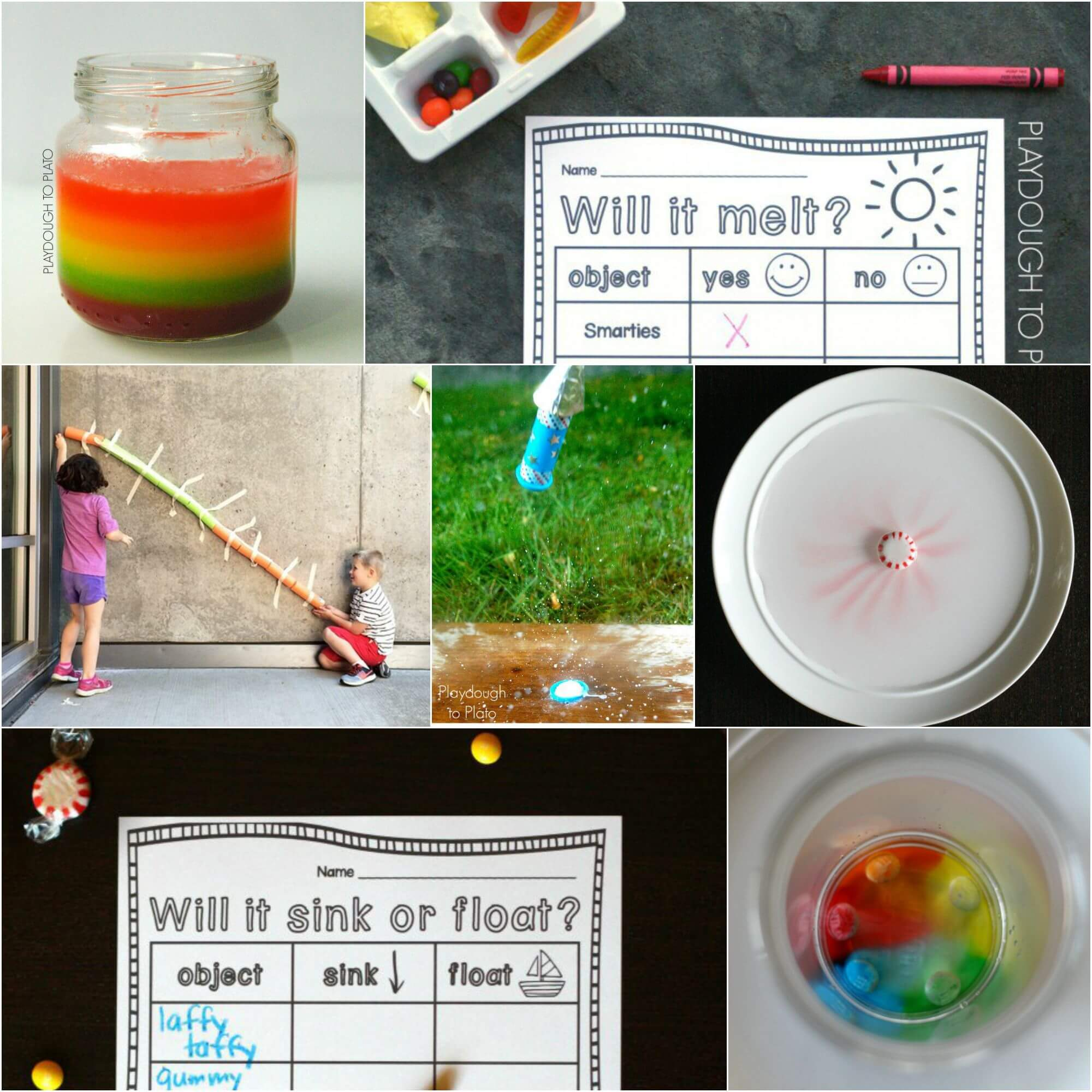21 Candy Science Experiments